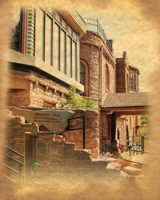 Miramont Castle Museum located in Manitou Springs CO