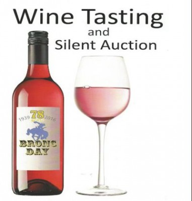 A Wine Tasting and Silent Auction Fundraiser for the 78th Bronc Day Festival presented by Bronc Day Committee at ,