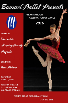 An Afternoon Celebration of Dance presented by Zamuel Ballet School at ,