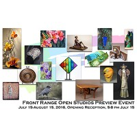 Front Range Open Studios Preview presented by Commonwheel Artists Co-op at Commonwheel Artists Co-op, Manitou Springs CO