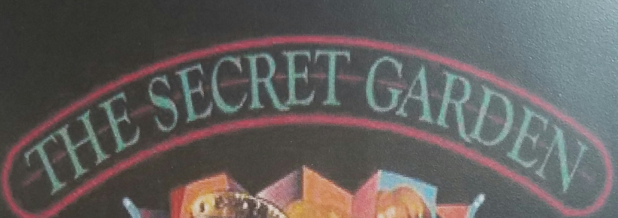 Fall Semester Kick Off Production Of The Secret Garden Musical By Lucy Simon Presented By