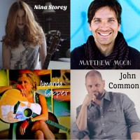 The Loft Presents Colorado Songwriters Circle Featuring Nina Storey, Matt Moon, and Amanda Capper presented by The Loft Music Venue and Theater at The Loft Music Venue and Theater, Colorado Springs CO