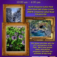 Canvases in the Cañon Art Show presented by Friends of Cheyenne Cañon at ,