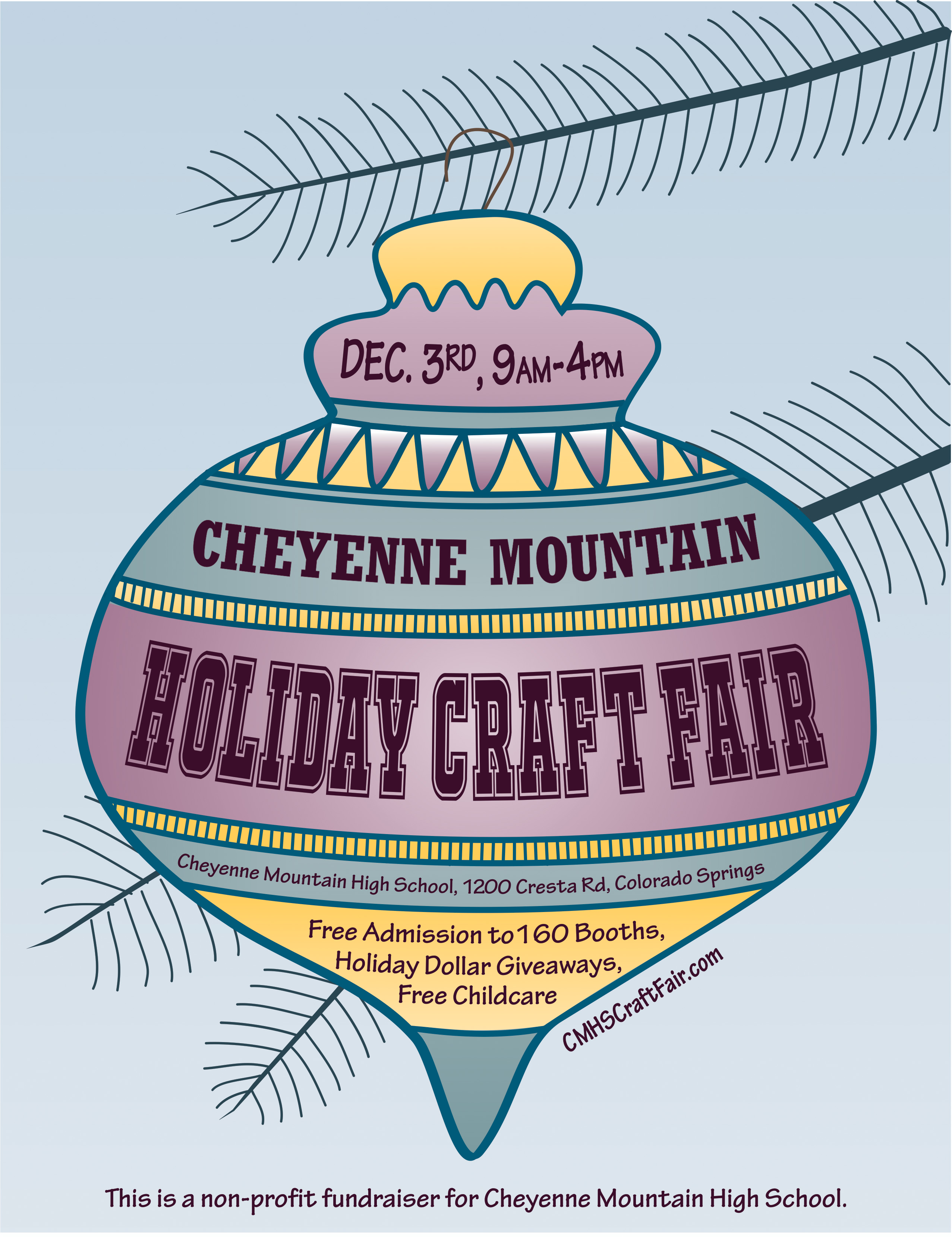 Cheyenne Mountain High School Craft Fair