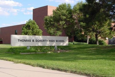 Thomas B. Doherty High School located in Colorado Springs CO