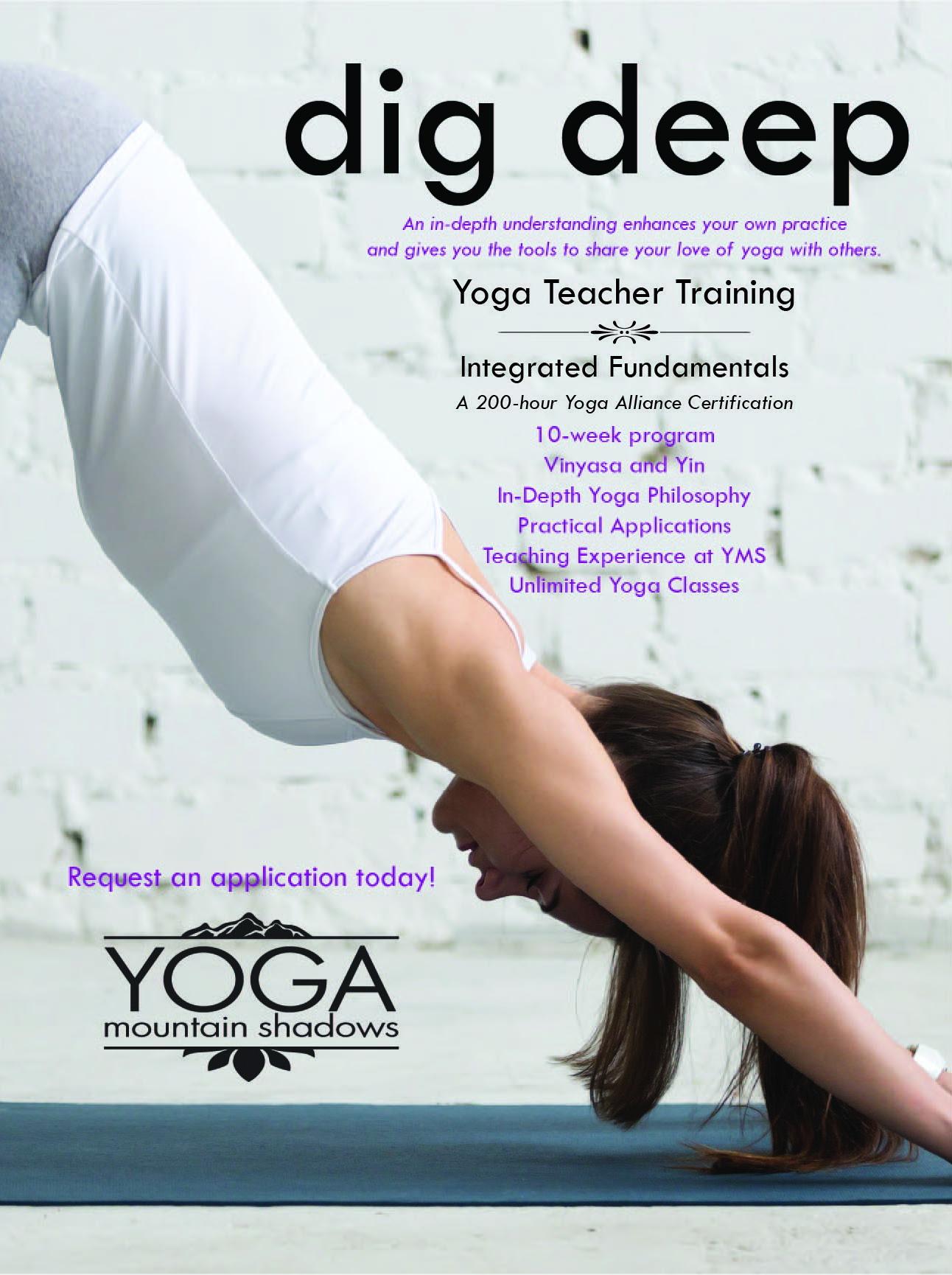 Yoga Teacher Training Presented By Yoga Mountain Shadows Peakradarcom