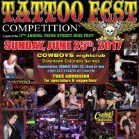 22nd Tejon Street Tattoo Fest