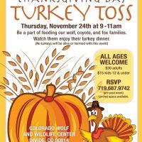 Thanksgiving Day Turkey Toss