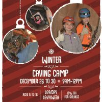 Winter Caving Camps at CityROCK Climbing Center presented by CityRock Climbing Center at ,