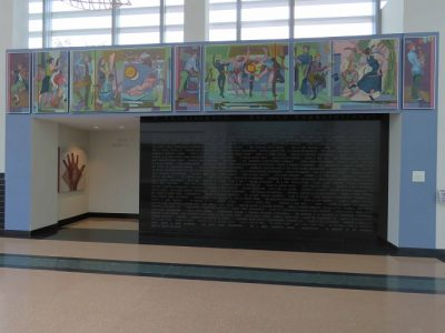 Fine Arts Center 75th Anniversary Mural