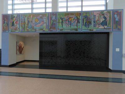 Fine Arts Center 75th Anniversary Mural