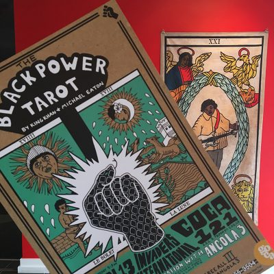 Black Power Tarot presented by UCCS Galleries of Contemporary Art at GOCA 121, Colorado Springs CO
