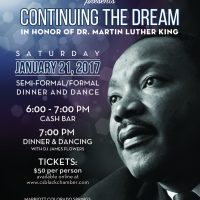 Continuing the Dream Dinner and Dance presented by Colorado Springs Black Chamber of Commerce at ,