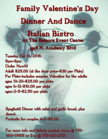 Family Valentine S Day Dinner And Dance Presented By Magical