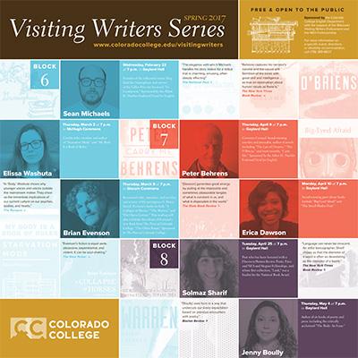 Visiting Writers Series: Sean Michaels