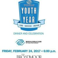 Youth of the Year Dinner and Celebration presented by Boys & Girls Club of the Pikes Peak Region at Broadmoor Hotel - Rocky Mountain Ballroom, Colorado Springs CO