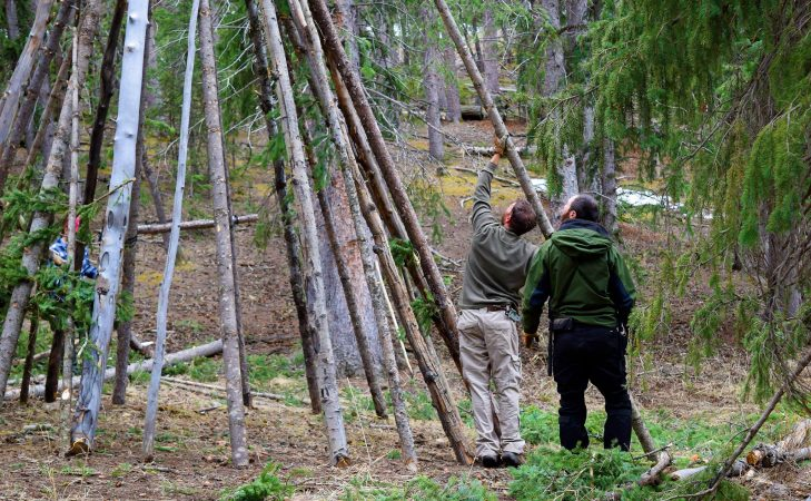 Primitive Shelter Building Class Presented By Colorado