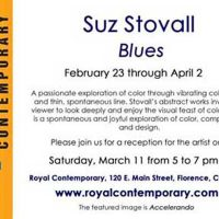 'Blue' presented by Suz Stovall at ,