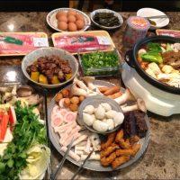 Traditional Hot Pot Dinner for Lantern Festival 慶祝元宵節火鍋