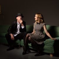 Willy Porter with Carmen Nickerson