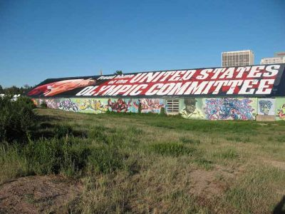 US Olympic Committee Mural