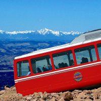Broadmoor Pikes Peak Cog Railway located in Manitou Springs CO