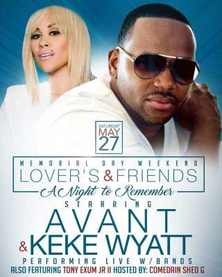 Avant and Keke Wyatt
