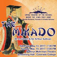 Opera Theatre of the Rockies presents 'The Mikado'
