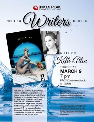 PPCC Visiting Writer: Kelli Allen presented by Pikes Peak Community College at Pikes Peak Community College- Downtown Studio Campus Gallery, Colorado Springs CO