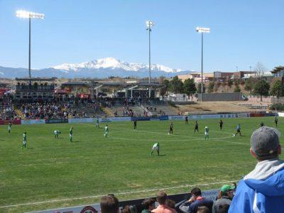 Switchbacks FC vs. Sacramento Republic FC presented by Colorado Springs Switchbacks FC at Weidner Field, Colorado Springs CO