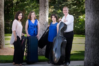 Veronika String Quartet: 'Expressing The Sublime' presented by Veronika String Quartet at ,