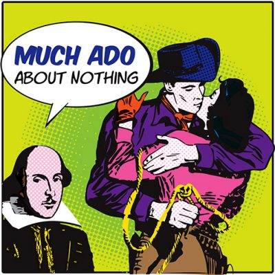 'Much Ado About Nothing' presented by Theatreworks at Rock Ledge Ranch Historic Site, Colorado Springs CO