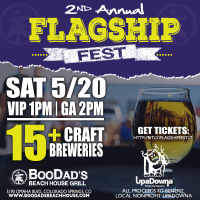Flagship Fest presented by BooDad's Beach House Grill at ,