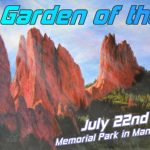 Garden of the Arts presented by  at Memorial Park, Manitou Springs, Manitou Springs CO