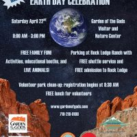 Earth Day Celebration at Garden of the Gods