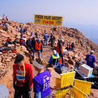 Pikes Peak Ascent and Marathon presented by Pikes Peak: America's Mountain at Pikes Peak - America's Mountain, Cascade CO