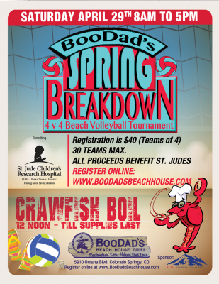 Spring Breakdown Volleyball Tournament