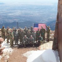 Veteran's Day on Pikes Peak