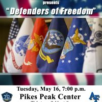 """""""Defenders of Freedom,"""" & Armed Forces Day Celebration Concert"""