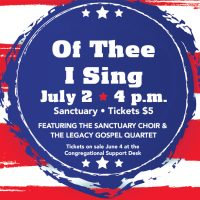'Of Thee I Sing' presented by First Presbyterian Church at First Presbyterian Church, Colorado Springs CO