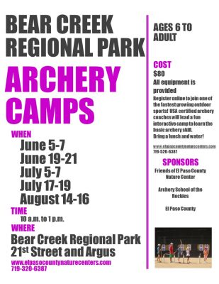 Archery Camps presented by Bear Creek Nature Center at ,