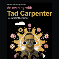 An Evening with Designer/Illustrator Tad Carpenter