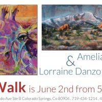 Amelia Furman and Lorraine Danzo