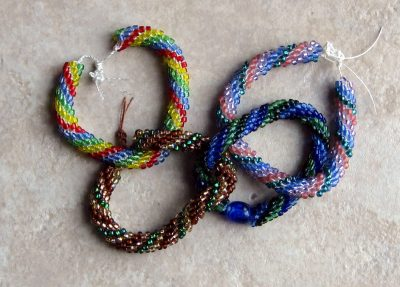 Bead Crochet Bracelet Workshops