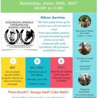 Colorado Springs Therapeutic Riding Center's Open House Fundraiser