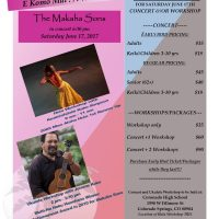 Makaha Sons Concert and Hula Festival presented by Stephanie Williams at Coronado High School Auditorium, Colorado Springs CO