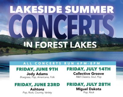 Forest Lakes Summer Concert Series presented by Peak Radar Live: Colorado Springs Dance Theatre at ,