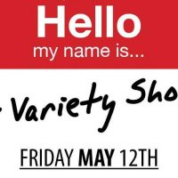 'Hello My Name Is...' Comedy Variety Show