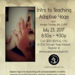 Intro to Teaching Adaptive Yoga presented by Yoga Studio Satya at ,