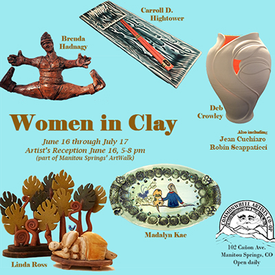 'Women in Clay' presented by Commonwheel Artists Co-op at Commonwheel Artists Co-op, Manitou Springs CO